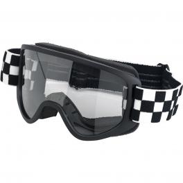 MOTO 2.0 GOGGLE - CHECKER'S BLACK/WHITE
