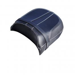 Genuine Leather Passenger Seat, Black