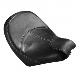 ALL-WEATHER VINYL EXTENDED REACH RIDER SEAT - BLACK