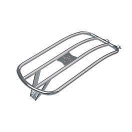 Porte-bagage Solo arrière en acier - Chrome
