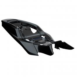 TRACKER SEAT BASE COWL - GLOSS BLACK