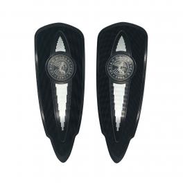 SELECT RIDER FLOORBOARDS IN BLACK - PAIR