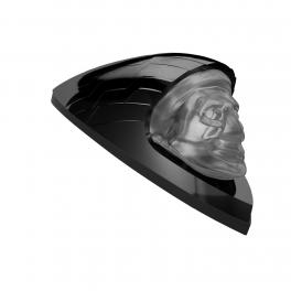 FRONT FENDER HEADDRESS LIGHT KIT - GLOSS BLACK