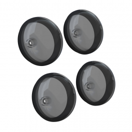 FRONT ANS REAR TURN SIGNALS IN SMOKE - 4 PACK