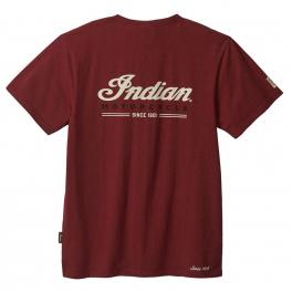 Men's Motorcycle T-Shirt, Red