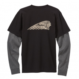 Men's Long Sleeve T-Shirt, Black