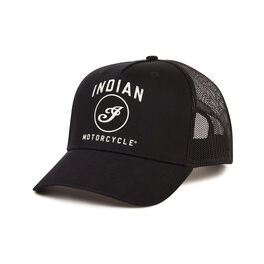 Spirit Lake Trucker Hat, Black